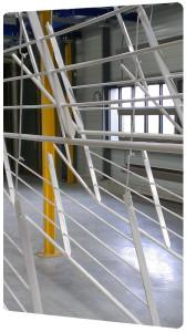 garde corps à lisses peinture poudre thermolaquage 16 17 79 la rochelle