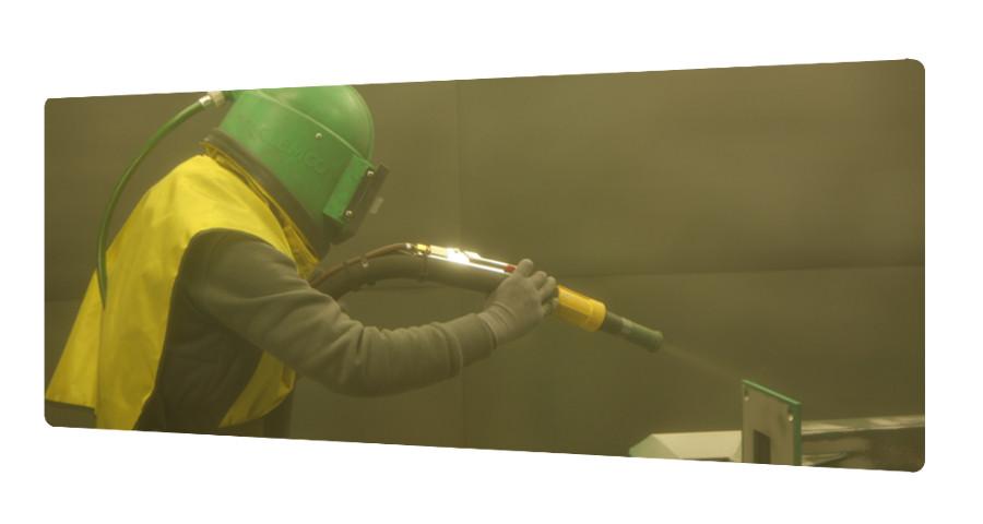 Grenaillage piece acier charente maritime qualicolor - Enlever rouille sur inox ...
