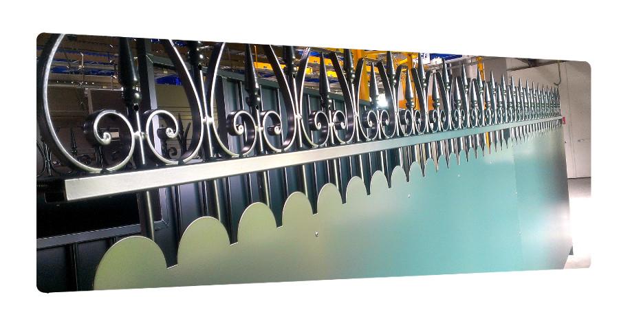 portail acier galvanisé thermolaquage 17