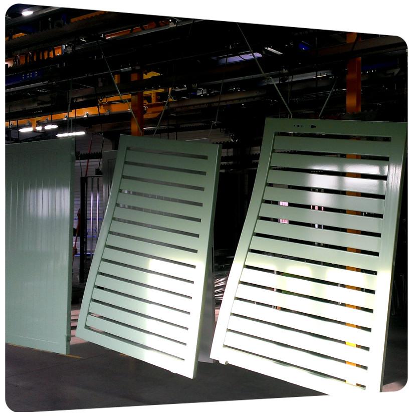 portail aluminium barreaude thermolaquage 17 qualicolor. Black Bedroom Furniture Sets. Home Design Ideas