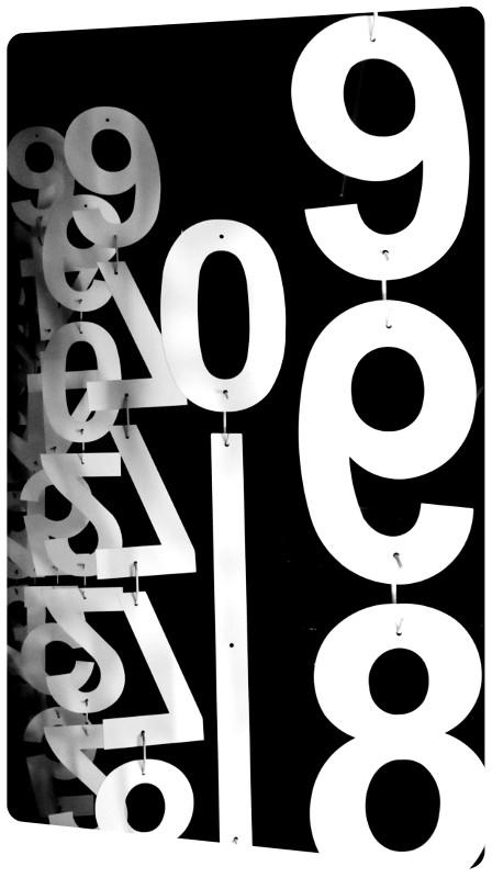 chiffres la rochelle laquage sur pièces