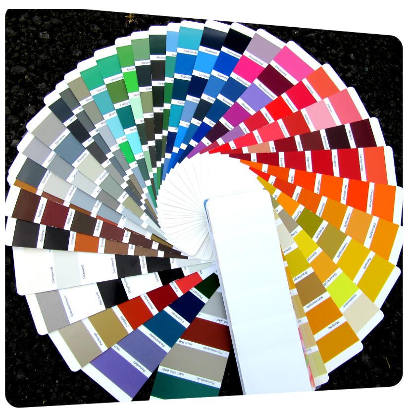 Thermolaquage Choix De Peinture Ral Qualicolor