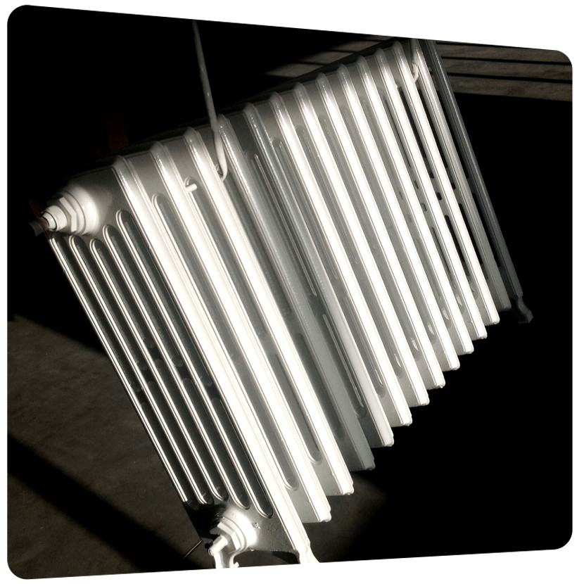 radiateur en fonte d aluminium stunning radiateur design. Black Bedroom Furniture Sets. Home Design Ideas