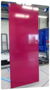 tole aluminium thermolaquage qualicolor plaque signaletique la rochelle