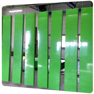 pieces industrielles acier thermolaquage poitou charentes qualicolor vert brillant