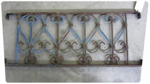 petite grille acier avant decapage qualicolor 17