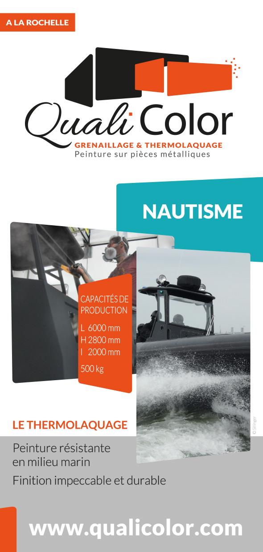 Grand pavois salon nautique 2015 la rochelle qualicolor for Salon nautisme