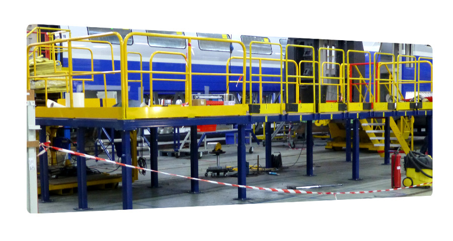 plateforme metallique industrie la rochelle 17