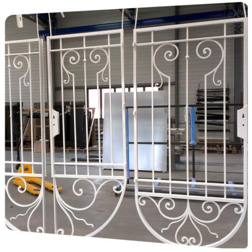 portail peinture laquage ferronnerie 17
