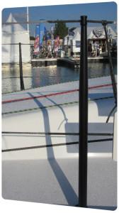 thermolaquage chandelier voilier peinture polyuréthane nouvelle aquitaine vendee charente maritime
