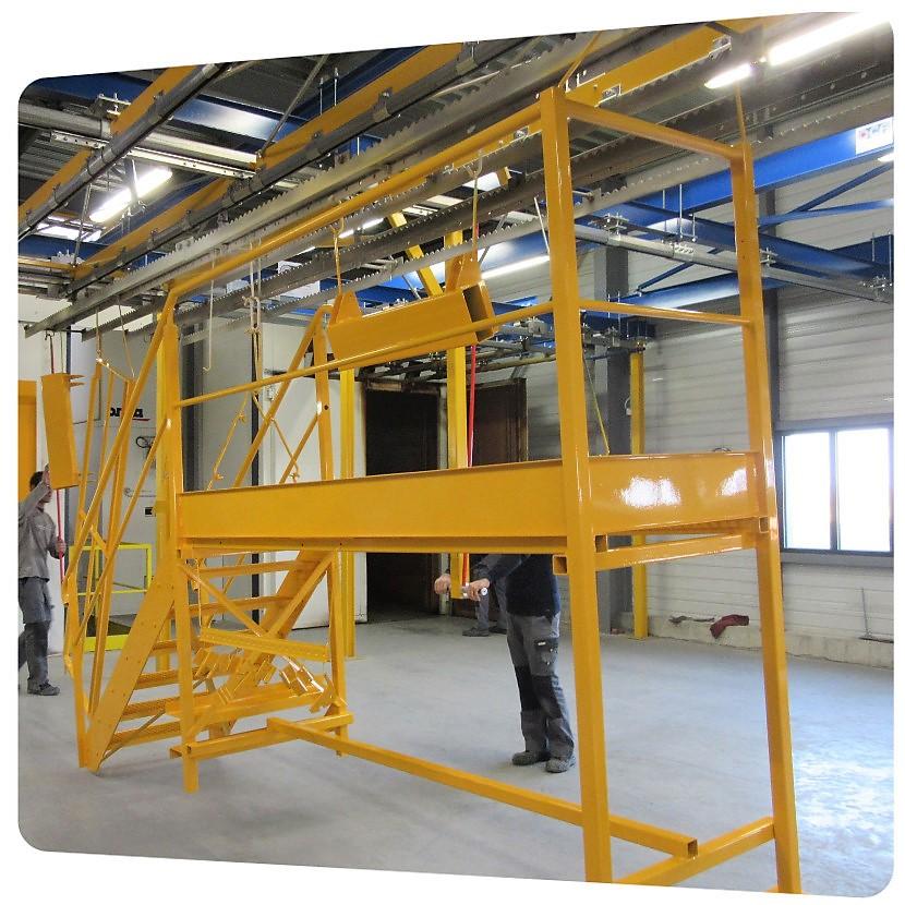 peinture epoxy structure assemblee aménagement industriel 17
