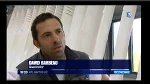 David Barbeau QUALICOLOR au JT de FRANCE 3