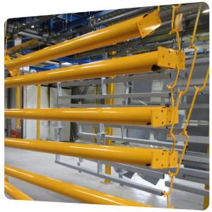 poteau-galva-structure-metallique-couleur-jaune-ecole-nouvelle-aquitaine-17