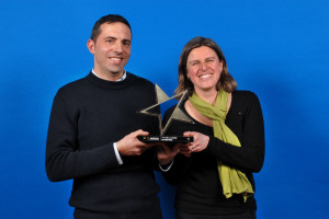 """QUALICOLOR remporte le Trophée Émergence 2015 """"Jeune entreprise"""" !"""