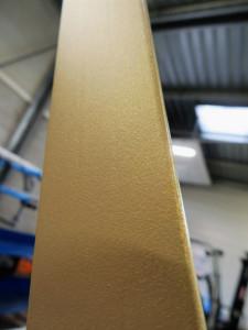 profil  pareclose ouverture  anodise  or  sable naturel  texture  aquitaine  pays  de  loire