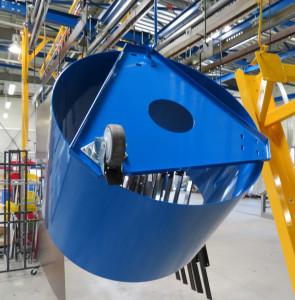 peinture poubelles bleu jaune vert structures metalliques charente maritime