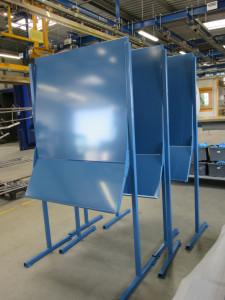 thermolaquage panneau tableau affichage metallique aimanté atelier industriel 17 16 79 33 85