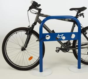 thermolaquage peinture arceau vélo support acier galvanisé nouvelle aquitaine