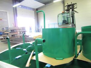 thermolaquage peinture poubelles structures metal atelier industriel 16 17 33 79 85