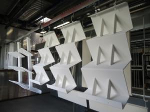 nautisme escalier thermolaquage peinture poudre polyurethane piece 3D aluminium nouvelle aquitaine 17